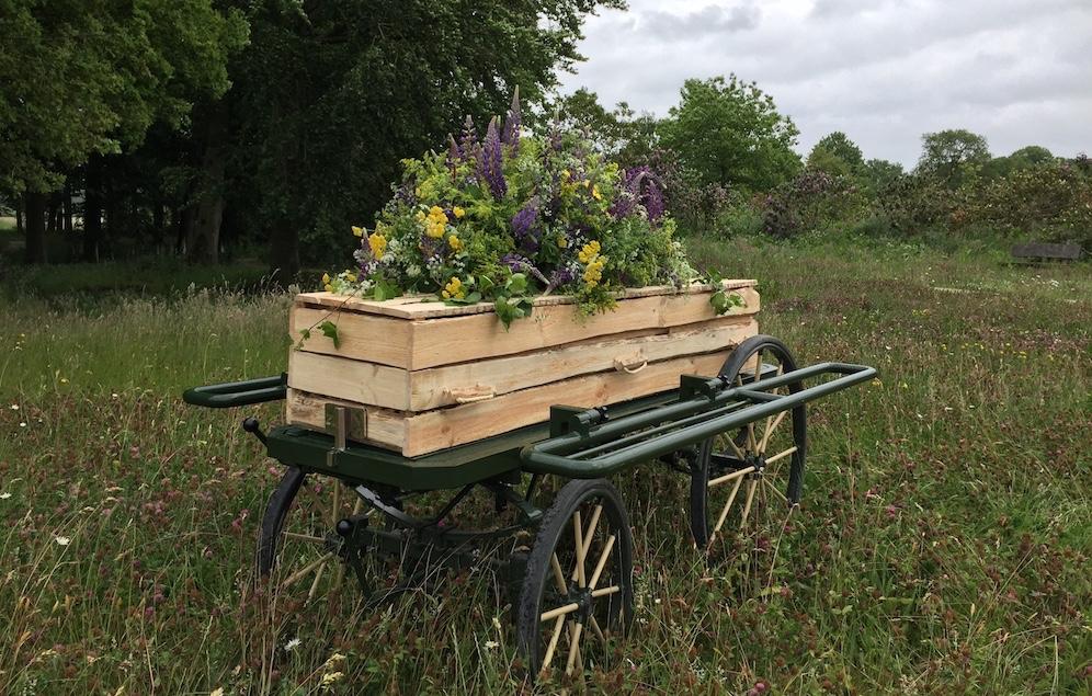 Het rouwvervoer bijzonder aanpakken? De loopkoets is een prachtige duurzame en mooie manier om de overledene te vervoeren naar de uitvaartlocatie, het crematorium of de begraafplaats.